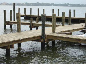 dock pilings
