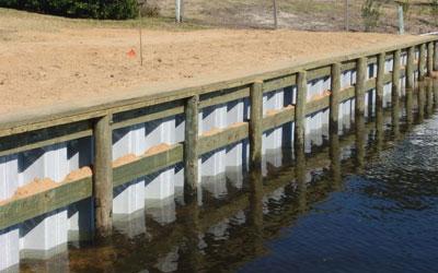 Bulkhead Retaining Wall Construction Amp Repair Texas