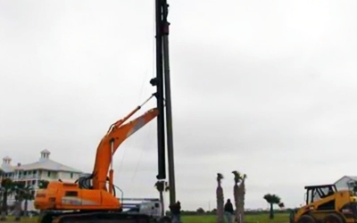 Pile Driving Amp Installation Shoreline Construction
